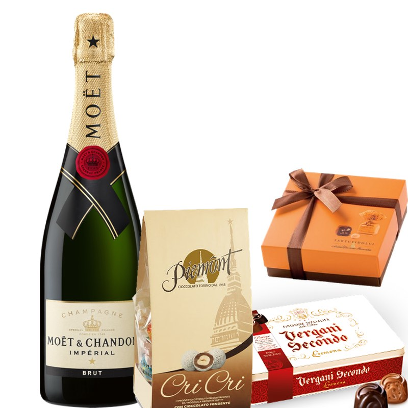 Moet & Chandon Reserve e Cioccolatini